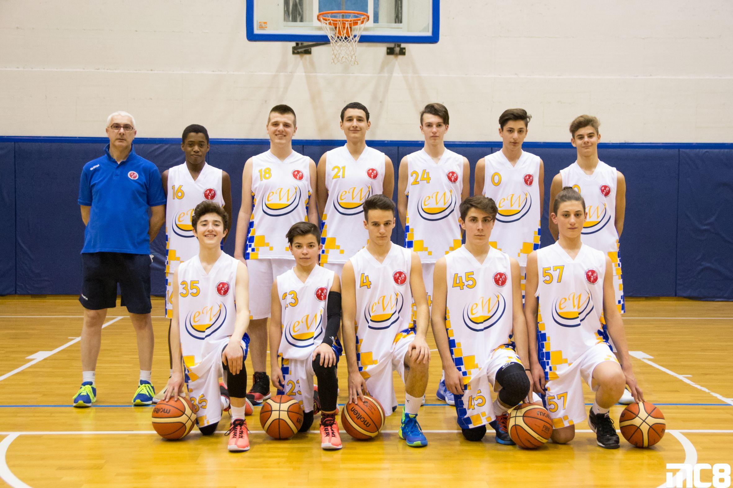 Informazioni generali. La squadra di basket Under ... db29a440afe3