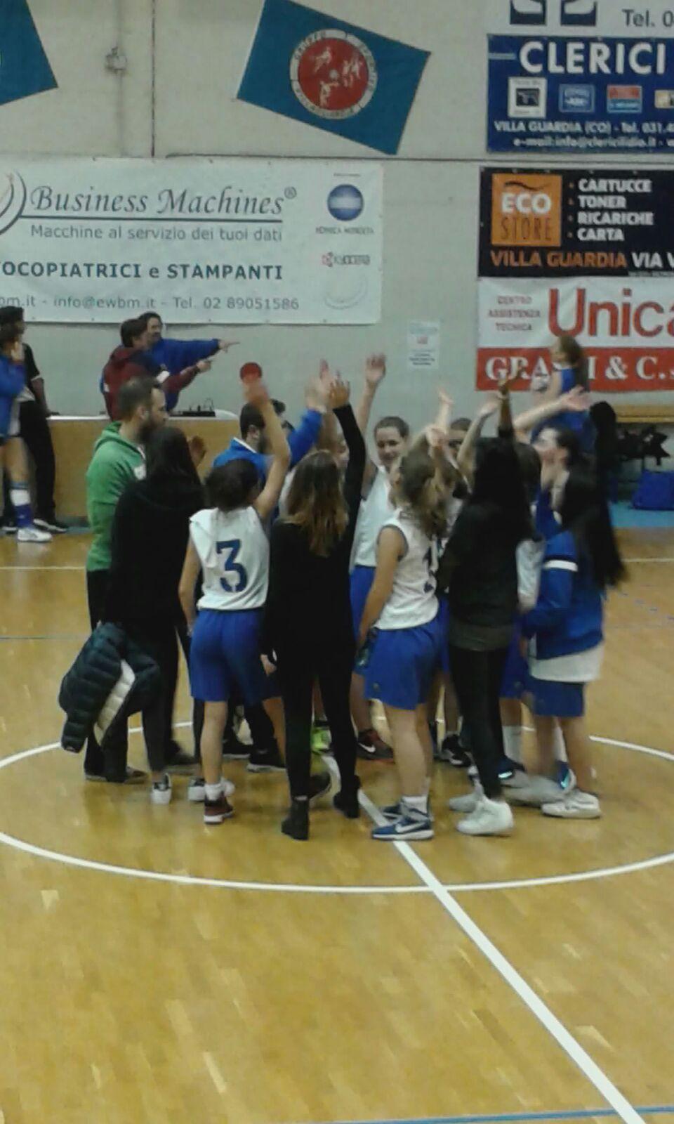 Basket - riprende la marcia delle ragazze UISP - G.S.VILLA GUARDIA 3ad003c670e8