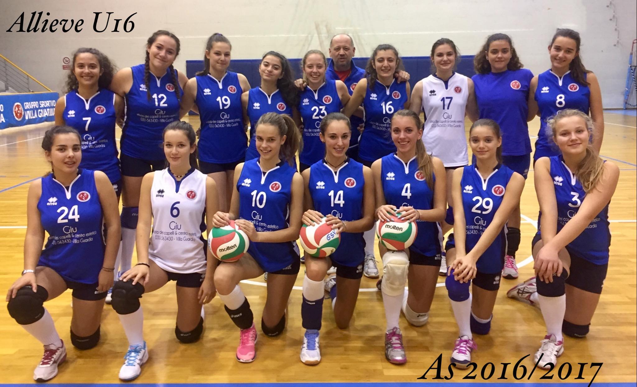 Volley - Under 16 blu - G.S.VILLA GUARDIA 2246f6cc89aa