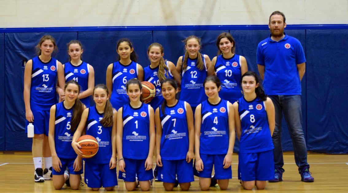 Basket - Under 13 F - G.S.VILLA GUARDIA 18ee42066365