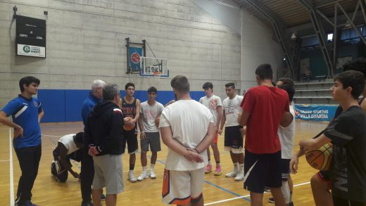 coach Pino Sacripanti e GSV